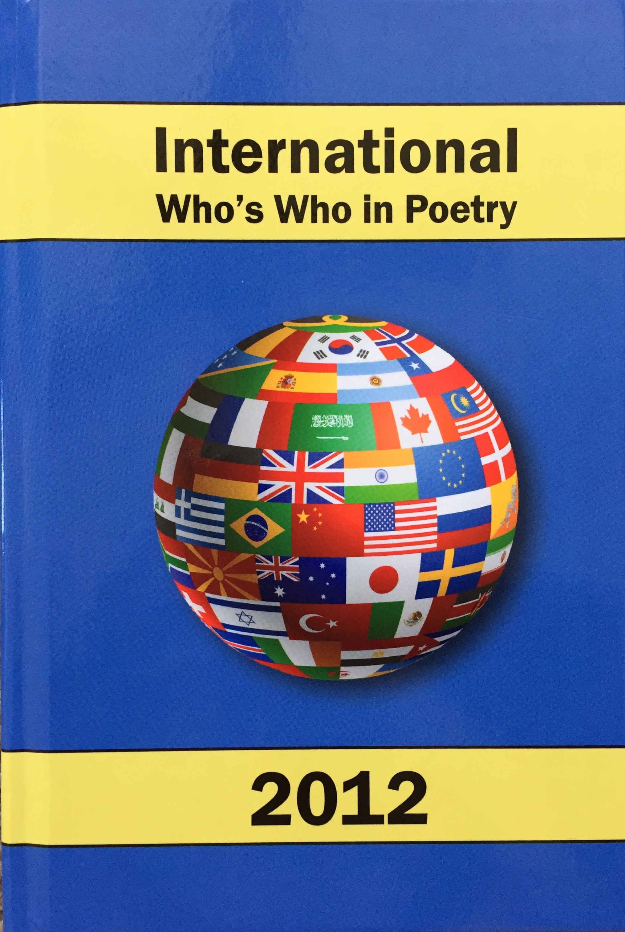 book International Who's Who in  Poetry 2012